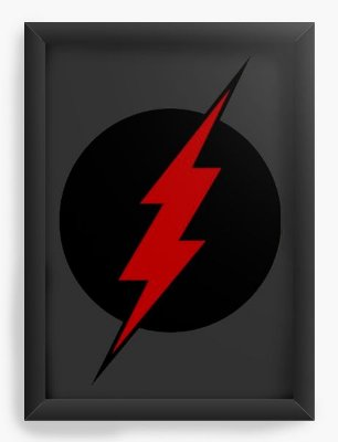 Quadro Decorativo Flash