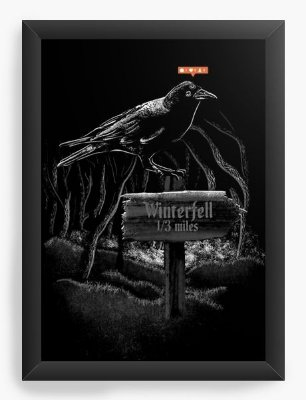 Quadro Decorativo Game of Thrones Winterfell