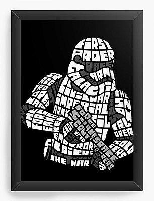 Quadro Decorativo Star Wars Stormtrooper