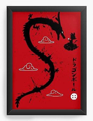 Quadro Decorativo Dragon Ball