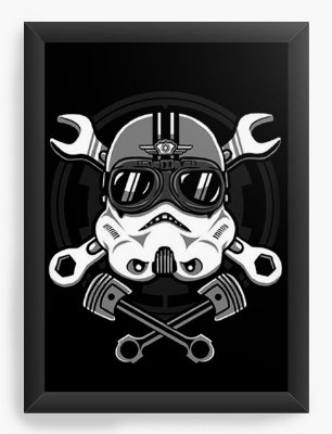 Quadro Decorativo Star Wars - Galactic
