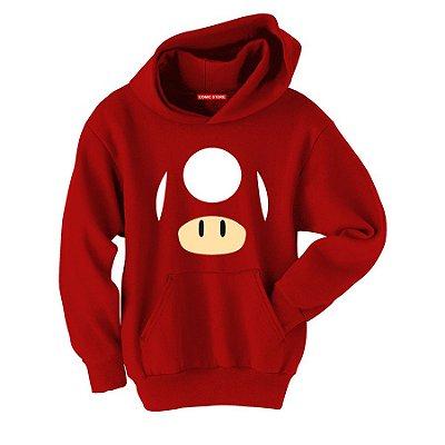 Blusa com Capuz Super Mario - Life