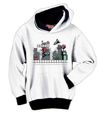 Blusa com Capuz Super Mario Evolution