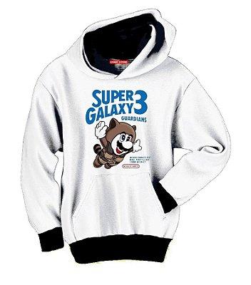 Blusa com Capuz Super Galaxy