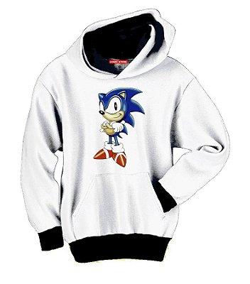 Blusa com Capuz Sonic