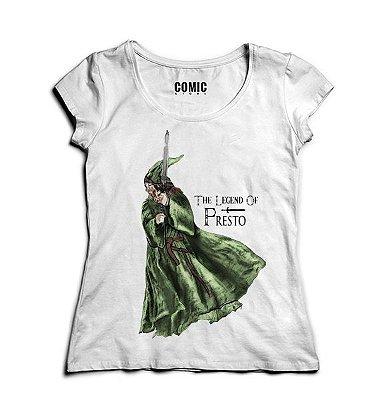 Camiseta Feminina The Legend of Presto