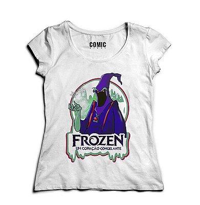 Camiseta Feminina Frozen