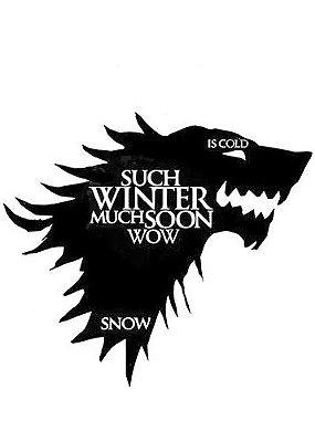 Camiseta Game of Thrones Winter