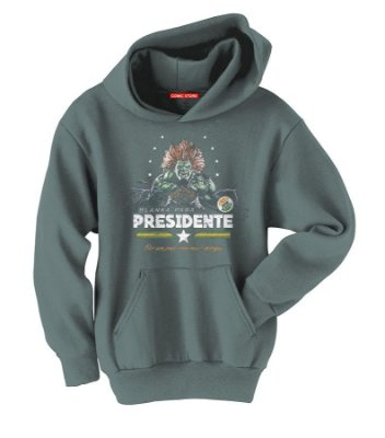 Blusa com Capuz Blanka Presidente