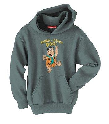 Blusa com Capuz Flintstones