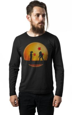 Camiseta Manga Longa Drago Ball Z