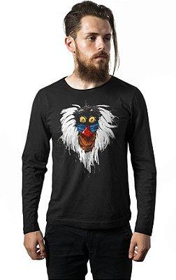Camiseta Manga Longa Rei Leão