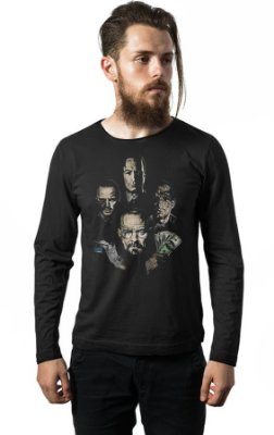 Camiseta Manga Longa Breaking Bad