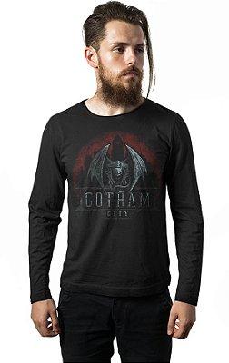 Camiseta Manga Longa Gotham City