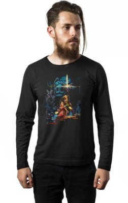 Camiseta Manga Longa The Legend of Zelda