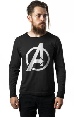 Camiseta Manga Longa The Avengers