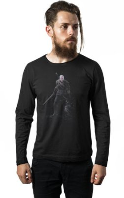 Camiseta Manga Longa The Witcher 3