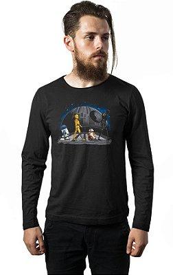 Camiseta Manga Longa BB-8 Star Wars