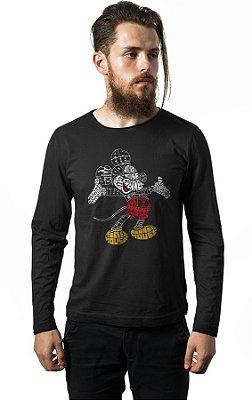 Camiseta Manga Longa Mickey mouse