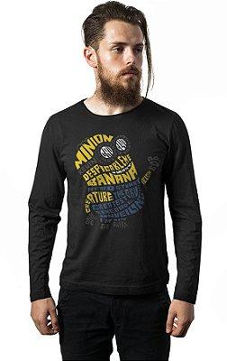 Camiseta Manga Longa Minions