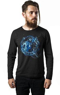 Camiseta Manga Longa Doctor Who