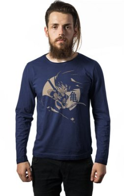 Camiseta Manga Longa Dragon Ball
