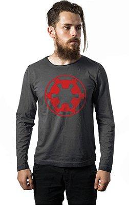 Camiseta Manga Longa Star Wars - Imperio