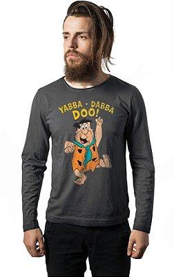 Camiseta Manga Longa Os Flintstones