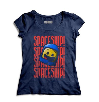 Camiseta Feminina Space Ship