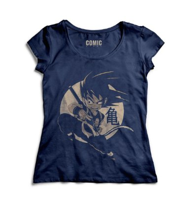 Camiseta Feminina Dragon Ball