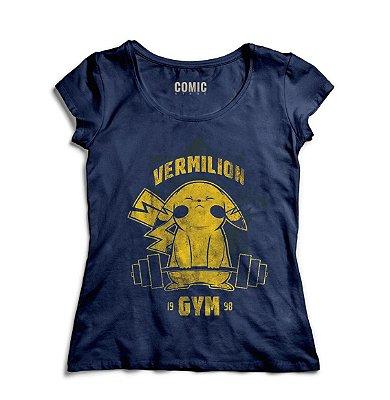 Camiseta Feminina Pikachu