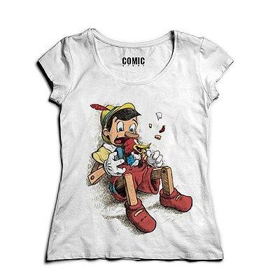 Camiseta Feminina Pinoquio
