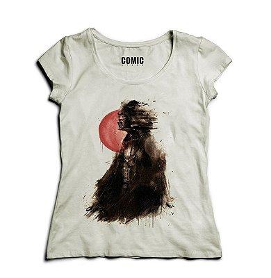 Camiseta Feminina Star Wars - Darth