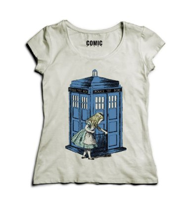 Camiseta Feminina Doctor Who - Alice