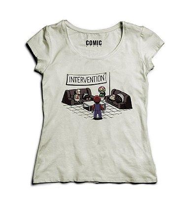 Camiseta Feminina Super Mario