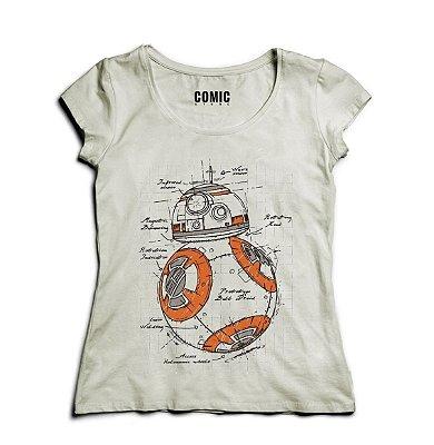 Camiseta Feminina BB-8 - Star Wars
