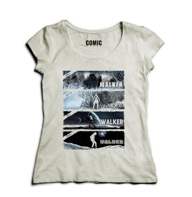 Camiseta Feminina Star Wars Walker