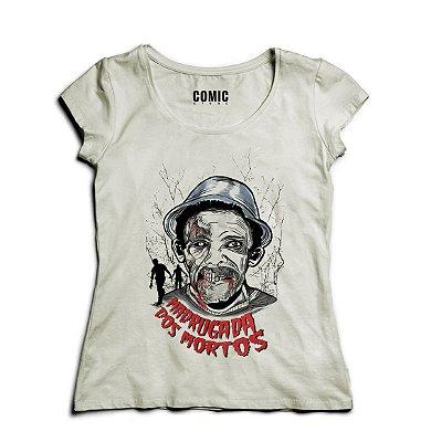 Camiseta Feminina Seu Madruga - Chaves