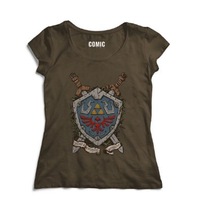 Camiseta Feminina The zelda - Link