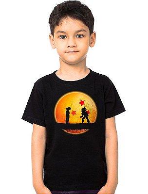 Camiseta Infantil Dragon Ball - Goku