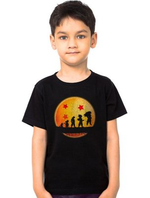 Camiseta Infantil Dragon Ball - Evolution