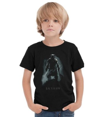 Camiseta Infantil Skyrim
