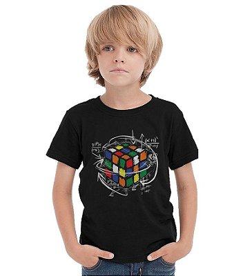 Camiseta Infantil Cubo Magico