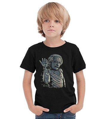 Camiseta Infantil Albert Einstein