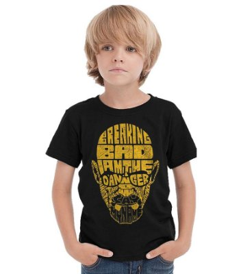 Camiseta Infantil Breaking Bad