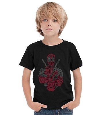 Camiseta Infantil Deadpool Ninja