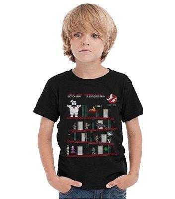 Camiseta Infantil Caças Fantasmas
