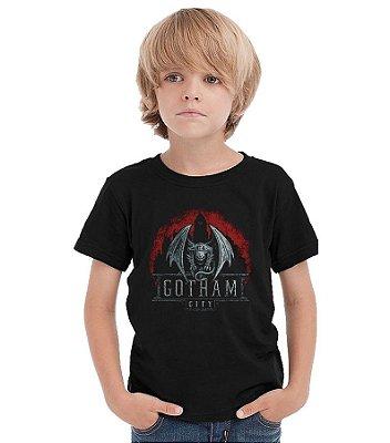 Camiseta Infantil Gotham City