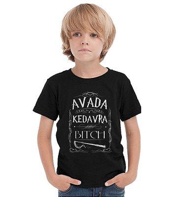 Camiseta Infantil Avada Kedavra