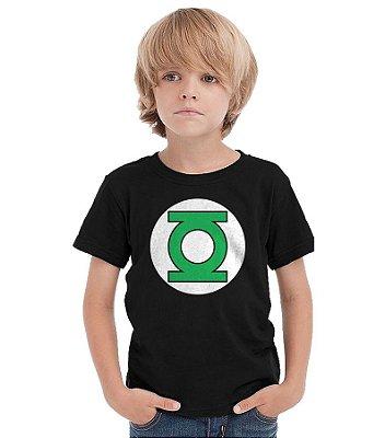 Camiseta Infantil Lanterna Verde